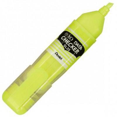 Surligneur Data checker jaune