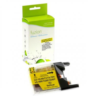 Brother LC75 XL jaune • cartouche compatible