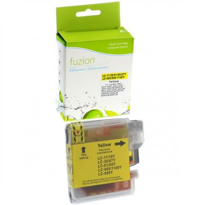 Brother LC61 jaune • cartouche compatible