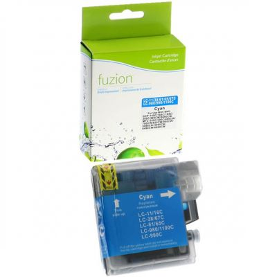 Brother LC61 cyan • cartouche compatible