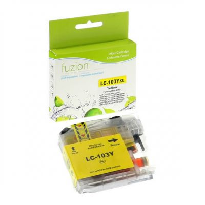 Brother LC103 jaune • cartouche compatible
