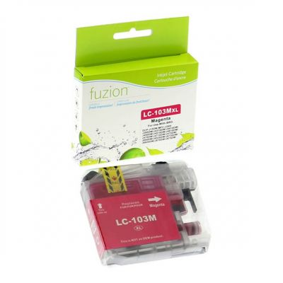 Brother LC103 magenta • cartouche compatible