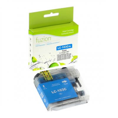 Brother LC103 cyan • cartouche compatible