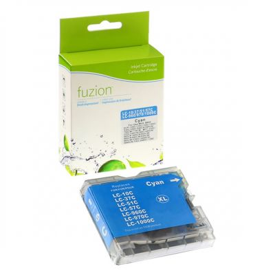 Brother LC51 cyan • cartouche compatible